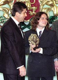 "Bulgaria's President Presents ""John Atanassoff"" Award"